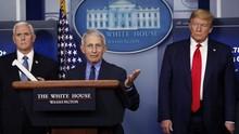 Tak Lagi di Bawah Trump, Fauci Lega Bicara Jujur soal Covid