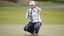FOTO: Korsel Gelar Turnamen Golf Pertama di Tengah Corona