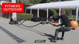 VIDEO: Pusat Kebugaran di Luar Ruangan