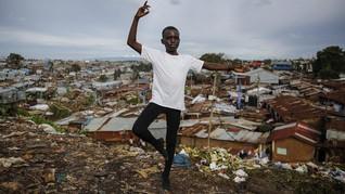 FOTO: Perjuangan Murid Belajar Balet saat Lockdown Kenya