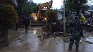 Lima Bulan, 1.382 Bencana Alam Landa Indonesia, 188 Tewas