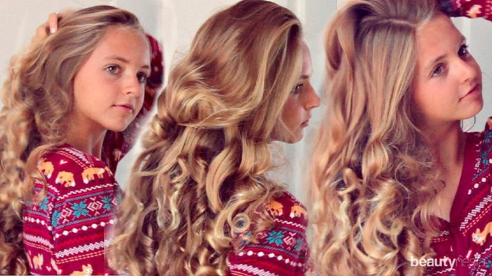 Lagi Viral! Ini Cara Praktis Mengeriting Rambut dengan Kaos Kaki
