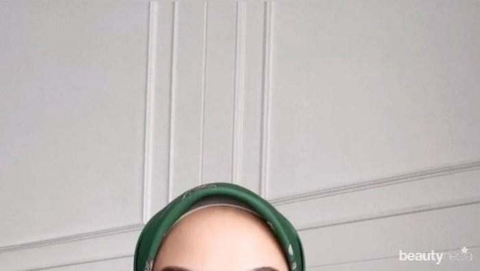 Tutorial Hijab Square yang Elegan ala Influencer Cantik Indah Nada Puspita