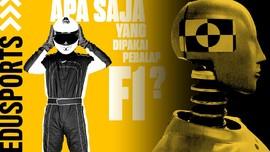 Edusports: Apa Saja yang Dipakai Pebalap F1?