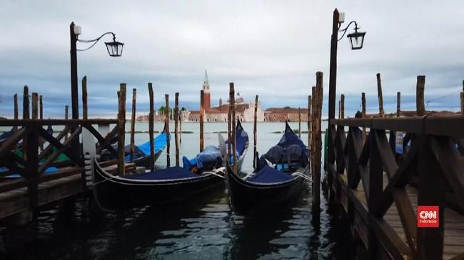 VIDEO: Dulu Pusat Wisata, Venesia Kini Sepi Akibat Corona