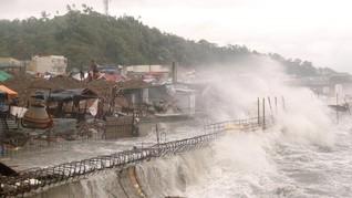 Badai Kompasu Terjang Filipina, 9 Meninggal dan 11 Hilang
