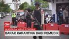 VIDEO: Polisi Siapkan Barak Karantina bagi Pemudik