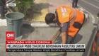 VIDEO: Pelanggar PSBB Dihukum Bersihkan Fasilitas Umum