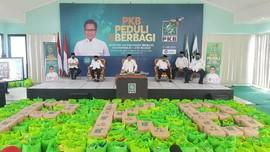 Gus Ami Donasikan Paket Sembako dan Masker Lewat DPW PKB