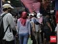FOTO: Pasar Tanah Abang Kembali Ramai saat PSBB