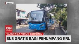 VIDEO: Bus Gratis Bagi Penumpang KRL