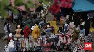 Polisi Ancam Tindak PKL Tanah Abang Kembali Melapak