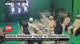 VIDEO: Resepsi Pernikahan Online Tekan Biaya Hingga 50 Persen