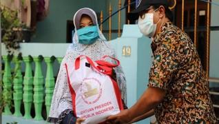 Pemkot Surabaya Terus Salurkan Bantuan ke Masyarakat