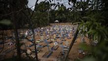 Jumlah Korban Meninggal Covid-19 di Brasil Lewati Italia