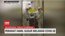 VIDEO: Perawat Hamil Gugur Melawan Covid-19