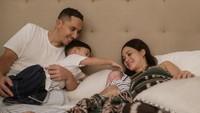<p>Kehadiran Tabi melengkapi kebahagiaan Andien dan Ippe sebagai orang tua. Selamat ya! (Foto: Instagram @andienaisyah)</p>