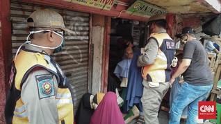 PKL Tanah Abang Dua Kali Ditertibkan dalam Sehari Selama PSBB