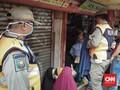 Banyak Petugas Berjaga, Pasar Tanah Abang Tetap Ramai