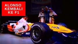 VIDEO: Alonso Dikabarkan Kembali ke F1