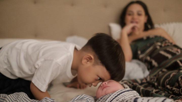 Andien Aisyah melahirkan anak kedua