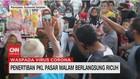 VIDEO: Penertiban PKL Pasar Malam Berlangsung Ricuh