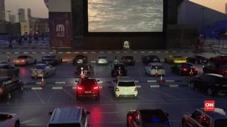 VIDEO: Warga Dubai Nikmati 'Layar Tancap' di Tengah Pandemi