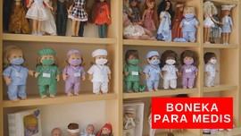 VIDEO: Boneka Pahlawan Covid-19