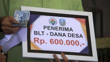 BLT Dana Desa Cair Rp3,48 Triliun untuk 5,8 Juta Keluarga
