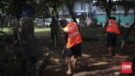 Pemerintah Instruksikan Perbanyak Sanksi Sosial PPKM Mikro