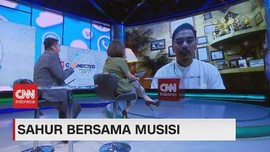 VIDEO: Sahur Bersama Musisi Enda 'Ungu'