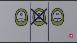 VIDEO: WC Umum Berpotensi Jadi Sarang Virus Corona