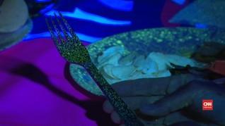 VIDEO: Melihat Simulasi Penyebaran Virus di Meja Makan