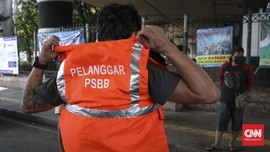 DKI Raup Rp430 Juta dari Denda Pelanggaran PSBB Transisi