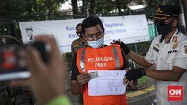 Pelanggar PSBB Palembang Terancam Kerja Sosial Hingga Denda