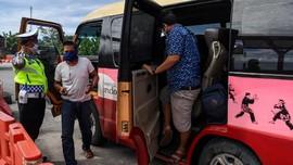 95 Travel Gelap Pembawa 719 Pemudik Terjaring Razia