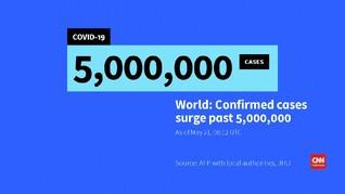 VIDEO: Kasus Virus Corona di Dunia Tembus 5 Juta