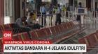 VIDEO: Aktivitas Bandara H-4 Jelang Idul Fitri