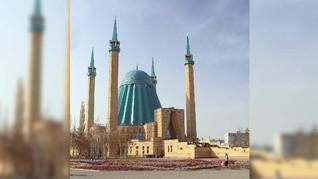 Berimajinasi Lewat Masjid Mashkhur Jusup di Kazakhstan