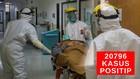VIDEO: 20.796  Kasus Positif Covid-19 di Indonesia