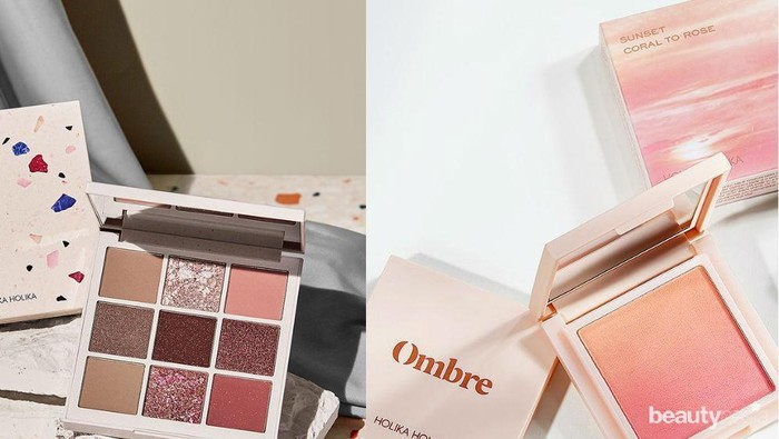 New Makeup: Terrazzo dan Ombre Blush, Produk Terbaru dari Holika Holika