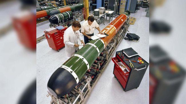 torpedo MK-48 Mod6 Advanced Technology (AT)