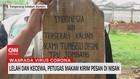 VIDEO: Lelah & Kecewa, Petugas Makam Kirim Pesan di Nisan