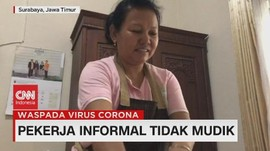 VIDEO: Pekerja Informal Tidak Mudik