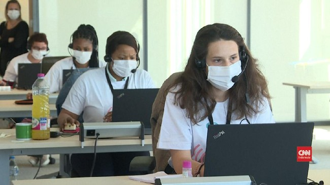 VIDEO: Melihat Aktivitas Pelacak Virus di Belgia
