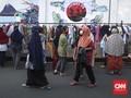 FOTO : Pembagian Gratis Busana Layak Pakai Jelang Idul Fitri