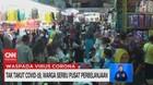 VIDEO: Tak Takut Covid-19, Warga Serbu Pusat Perbelanjaan