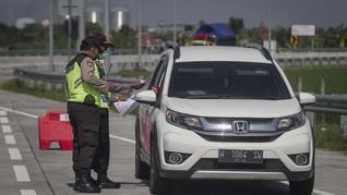 30 Ribu Kendaraan Dipaksa Putar Balik Selama Larangan Mudik