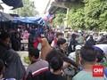 Jelang Lebaran, Pasar di Bandung Padat Pengunjung