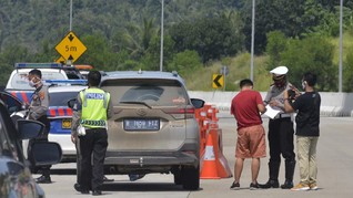 Malam Takbiran, 4.025 Kendaraan Diputarbalikan ke Jakarta